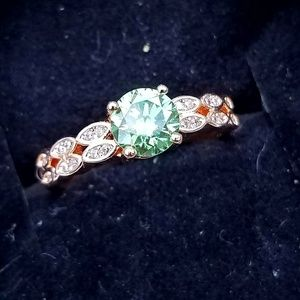 Jewelry - 1 Carat Moissanite Ring - Size 7